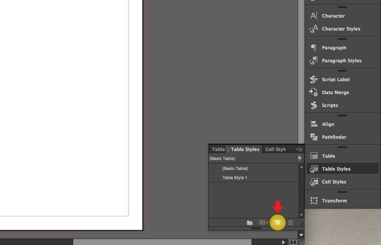Indesign Table Styles Step By Step Tutorial