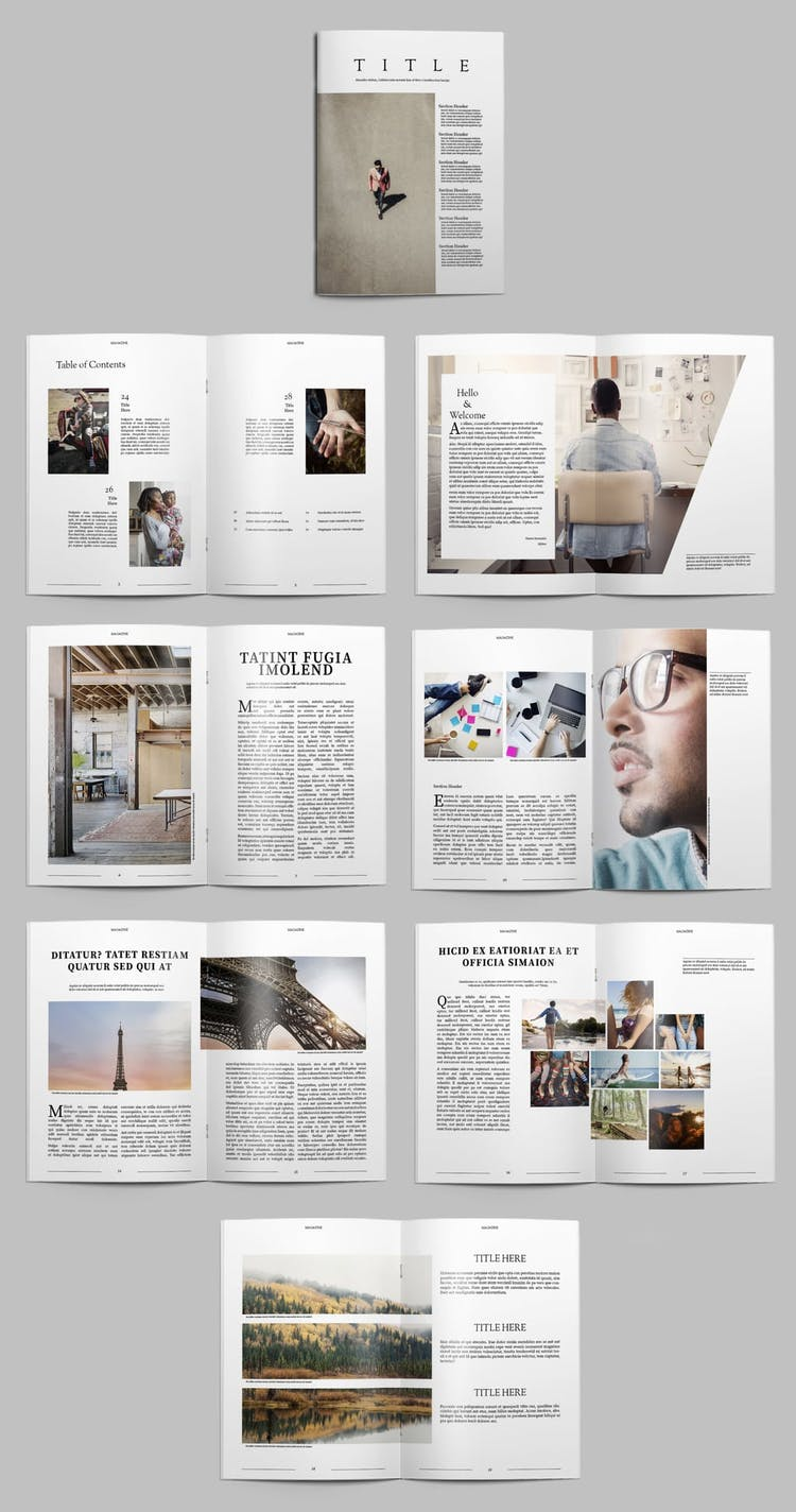 25 Fresh InDesign Templates (and where to find more) – Redokun Pertaining To Brochure Template Indesign Free Download