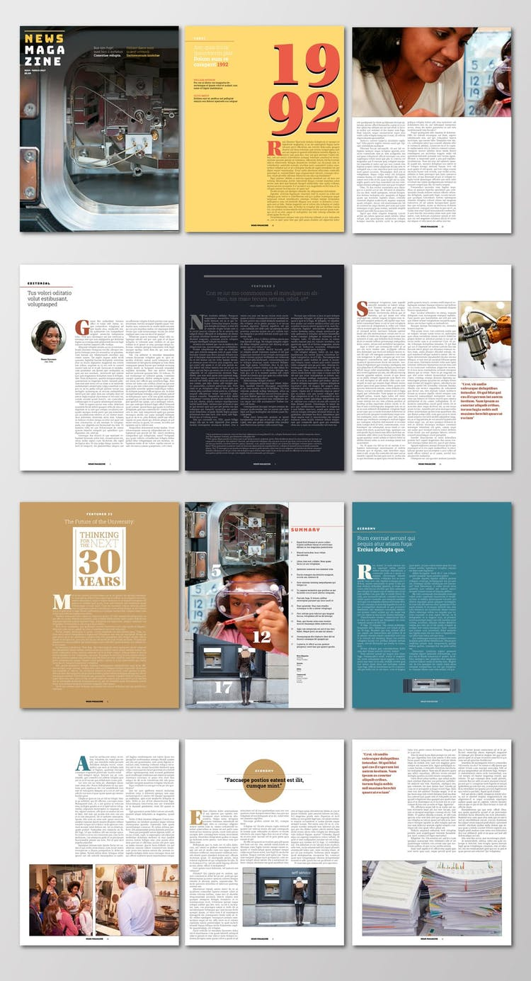 2700 Indesign Templates Free Templates Downloads