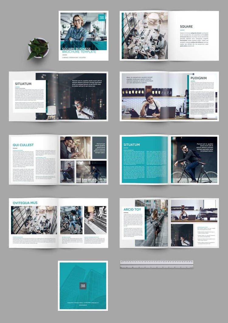 25 Fresh InDesign Templates (and where to find more) – Redokun Throughout Brochure Template Indesign Free Download