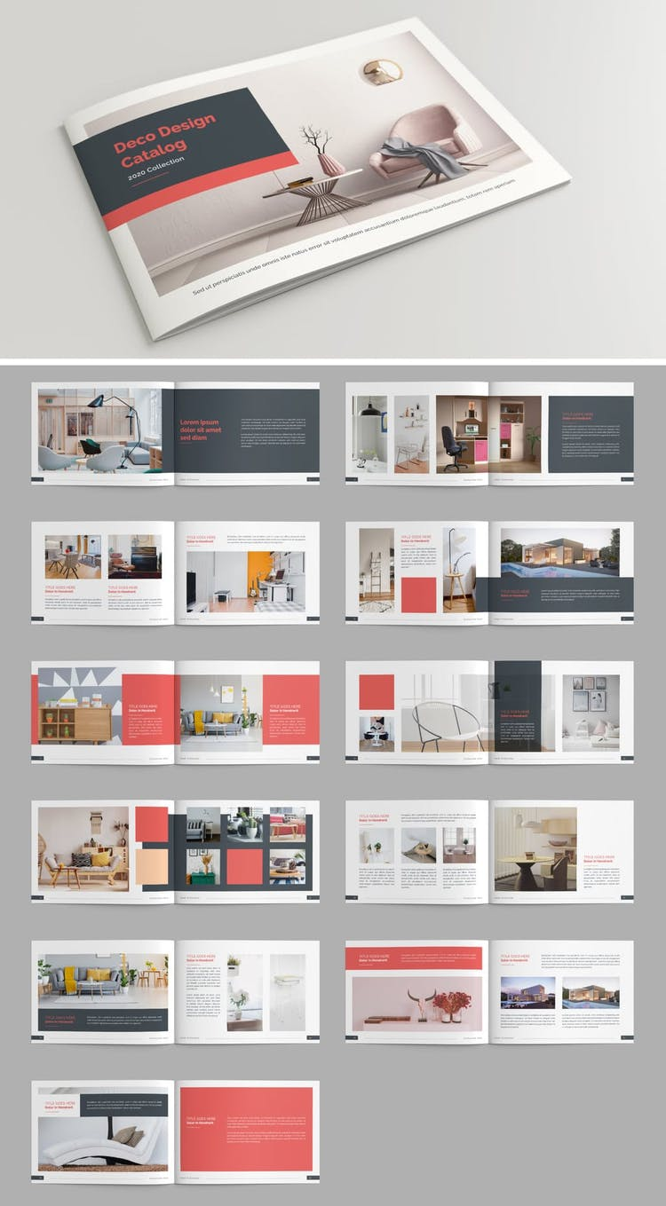 50 Fresh Indesign Catalog Templates  U2013 Redokun
