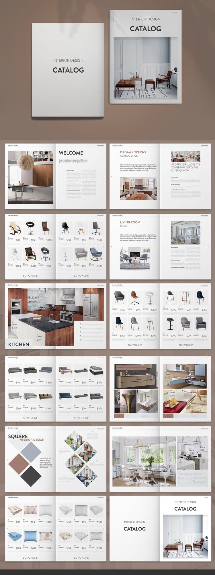 50 Fresh Indesign Catalog Templates Redokun