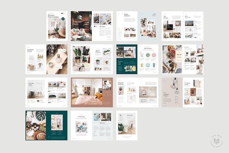 Plantilla de catálogo de productos de InDesign