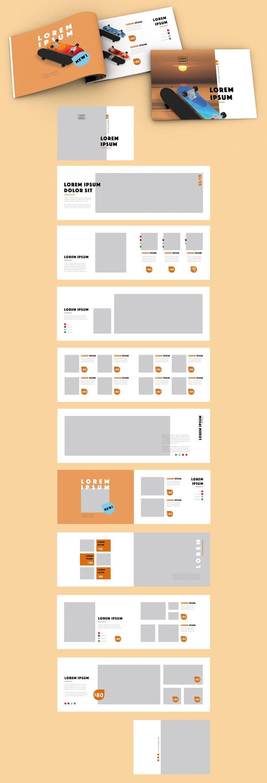 Plantilla de catálogo de InDesign