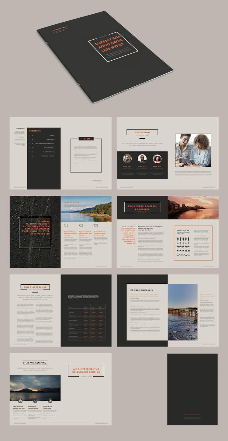 25 Fresh InDesign Brochure Templates – Redokun In Brochure Template Indesign Free Download