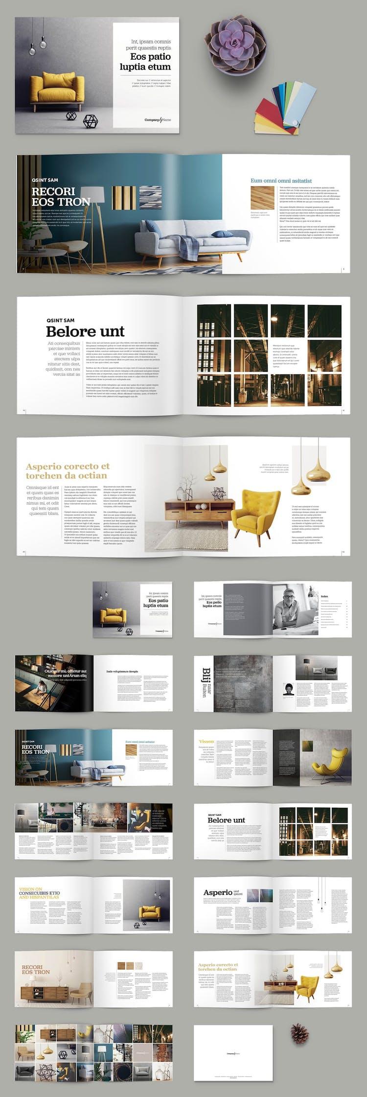 100 Fresh Indesign Brochure Templates Redokun