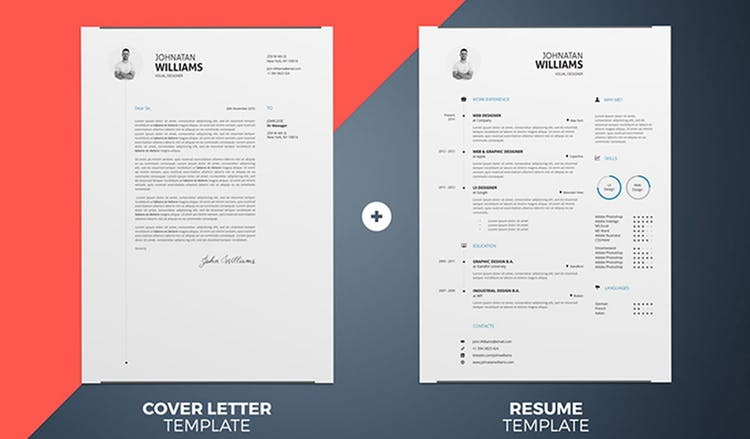 The 100 Indesign Resume Templates You Need In 2020 Redokun
