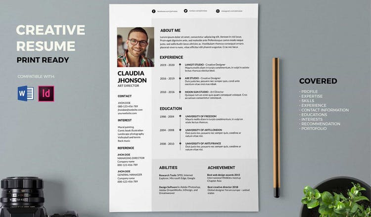 The Easy-customizable Resume
