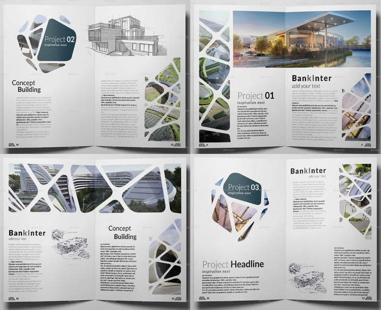 50 Best Architecture Portfolio Templates Redokun,Water Closet Interior Design
