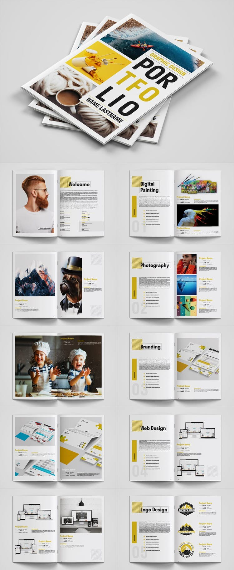 60 Best Indesign Portfolio Templates Redokun,Wrist Name Tattoos Designs On Arm