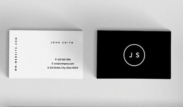 100 Fresh Indesign Business Card Templates Redokun