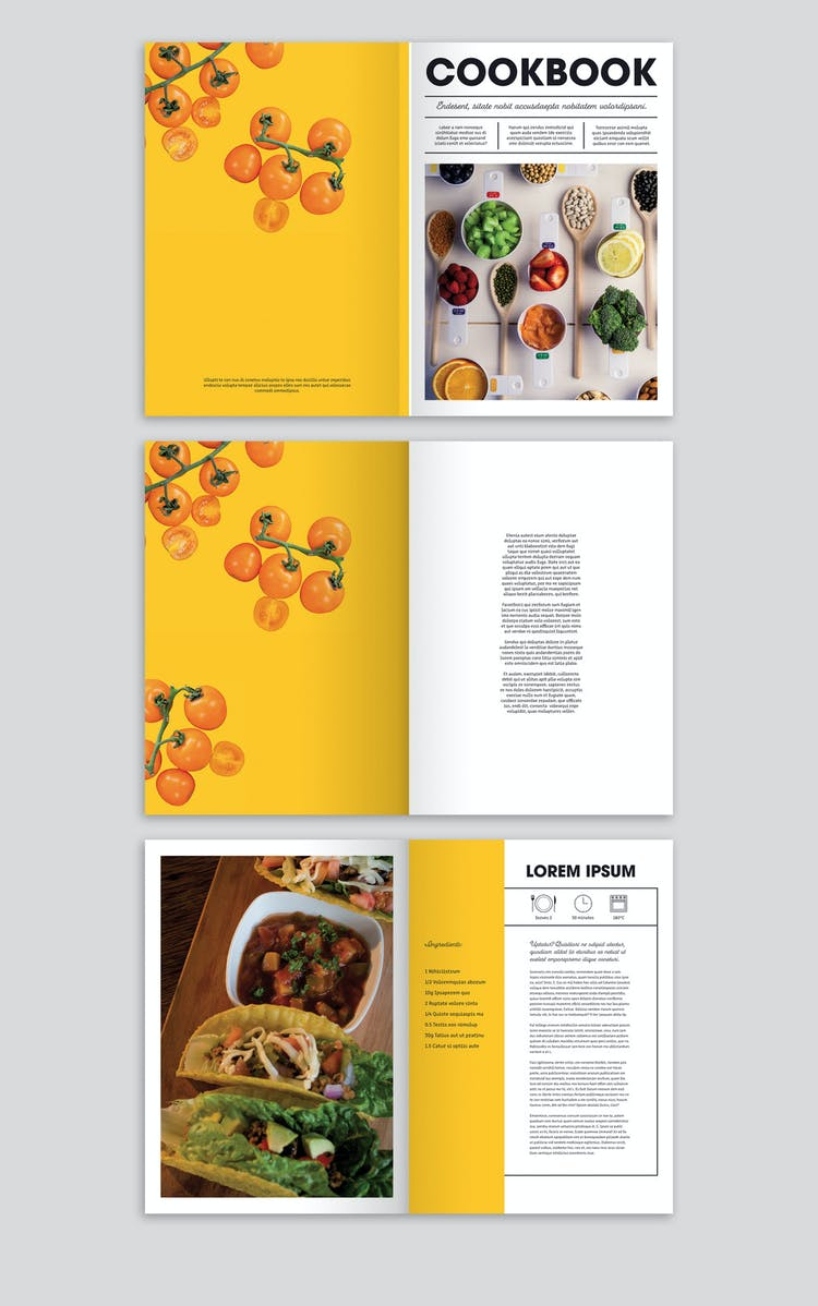 50 Versatile Indesign Cookbook Templates Redokun